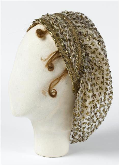 Joséphine's hair net (Châteaux de Malmaison et Bois-Préau - Malmaison France)   Grand Ladies   gogm