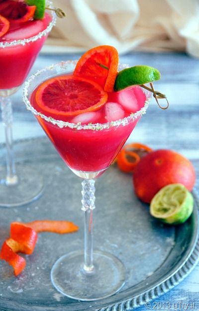 Blood Orange Margarita #drinks #cocktails #alcohol