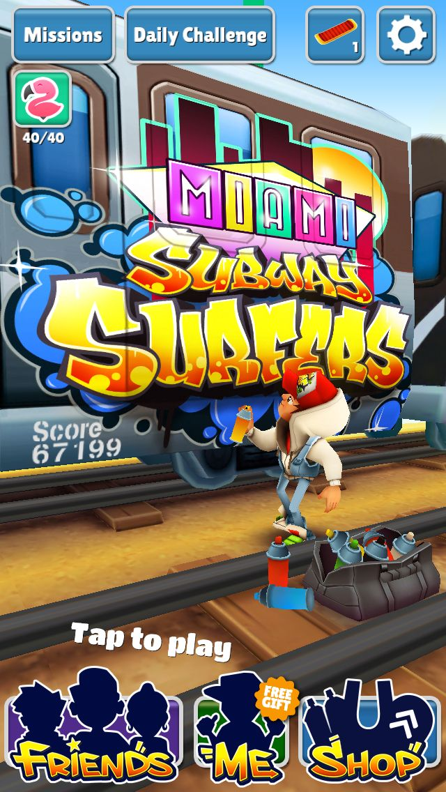 What is your highscore in subwaysurfers? We would like