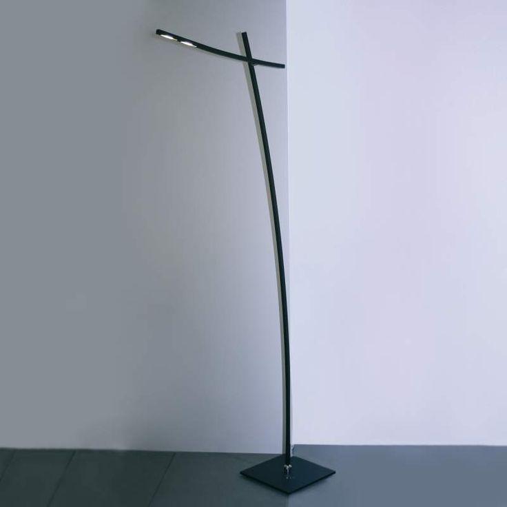 Bopp Bridge Moderne Led Stehlampe In Schwarz Stehlampe Led Stehlampe Gartenstrahler Led