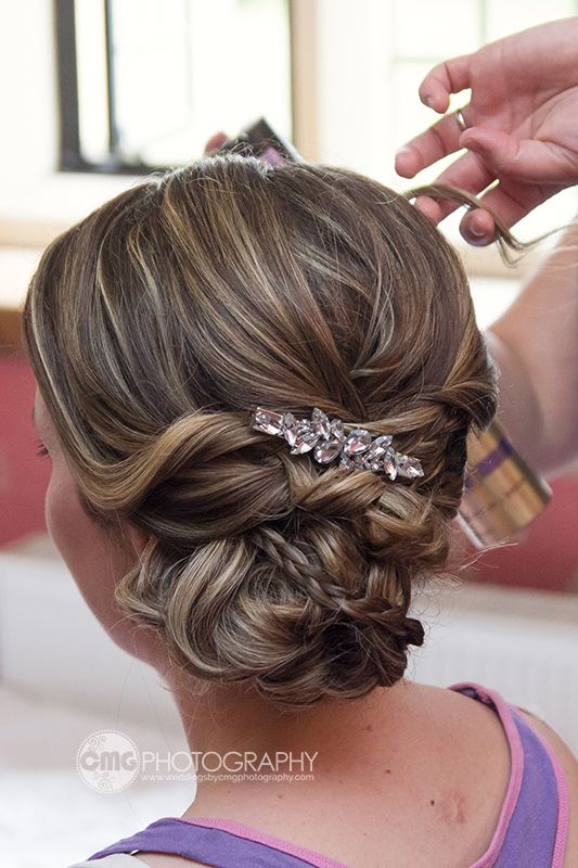 Bridesmaid Hair Up Style By Updoo In Swindon Wedding