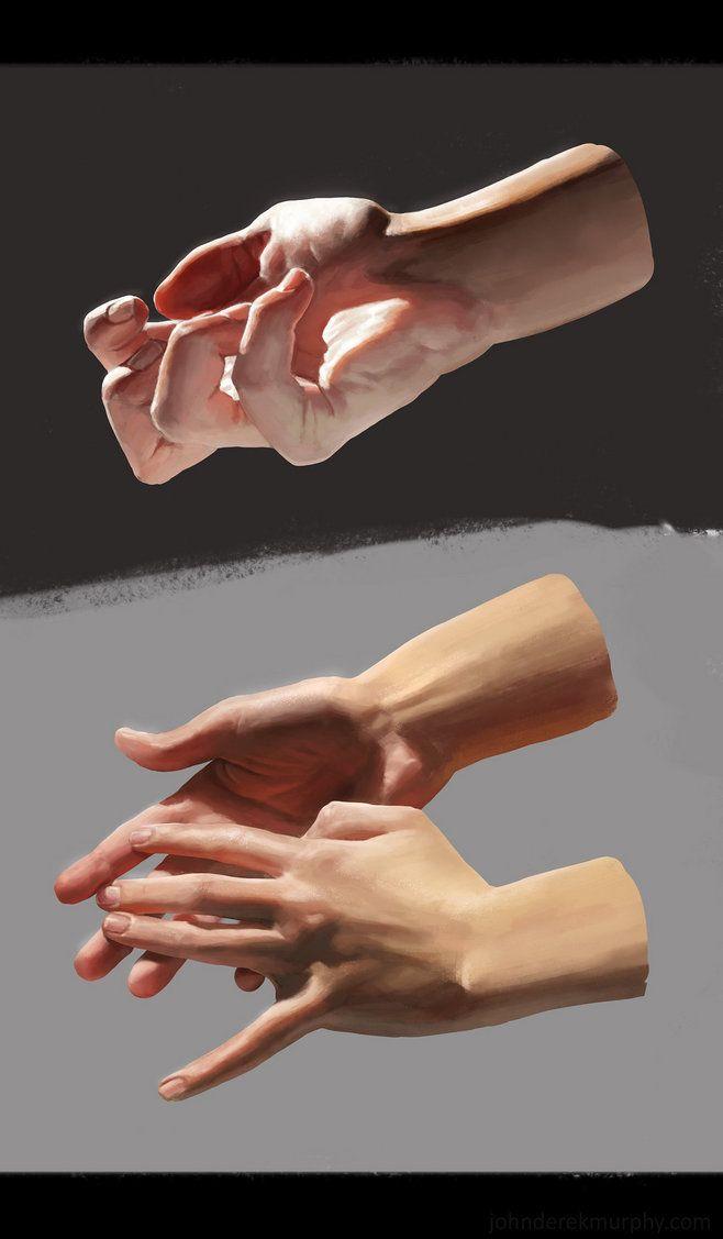 Hand studies, John D...