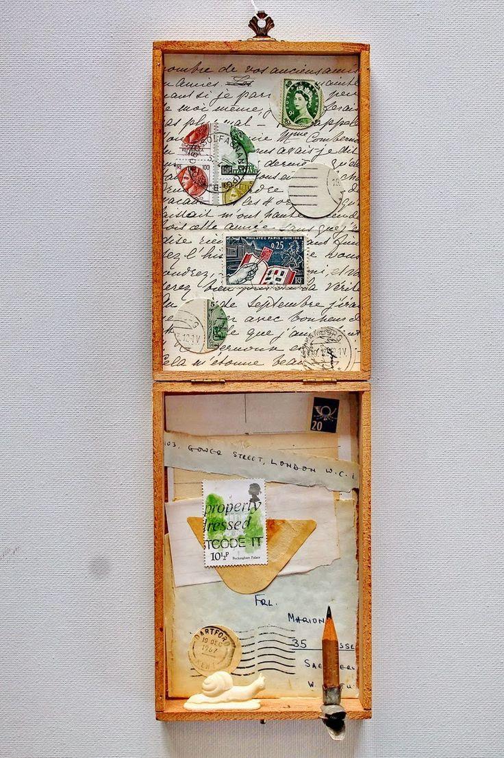 mano kellner, project 2015, art box / kunstschachtel 2015/1 - snail mail