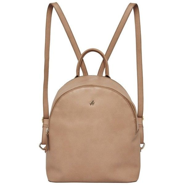 Women's Urban Originals Magic Vegan Leather Backpack (5.135 RUB) ❤ liked on Polyvore featuring bags, backpacks, camel, leather look backpack, rucksack bags, backpack bags, vegan leather bags and camel backpack