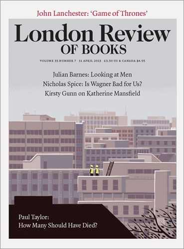 LRB · John Lanchester · When did you get hooked?: Game of Thrones