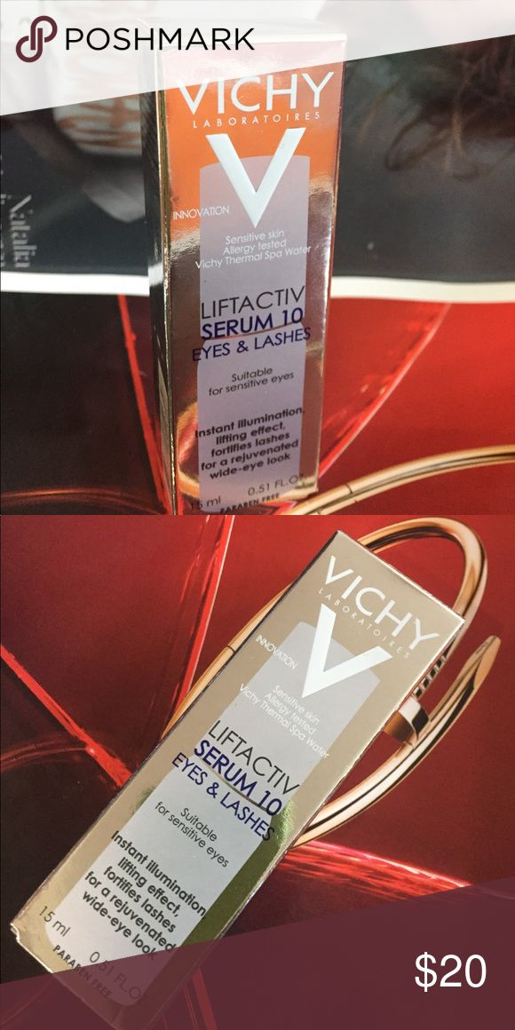 🌺VICHY EYE&LASHES🌺LIFTACTIV SERUM 10 💯🆕Instant Illumination, lifting effect, fortifies ladhes for a rejuvenated wide-eye look. Paraben free Other
