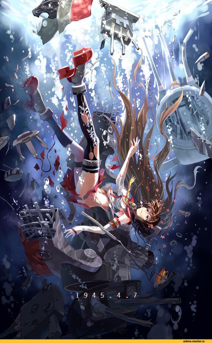 Anime,аниме,Yamato (Kantai Collection),Kantai Collection,supakorn.se(Author)