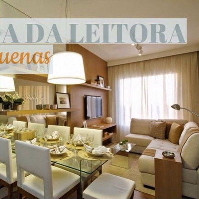 POST No Blog Duvida Da Leitora Maria Caroline! Decoração Salas Pequenas!  Inspire Se · Home DesignLiving ...