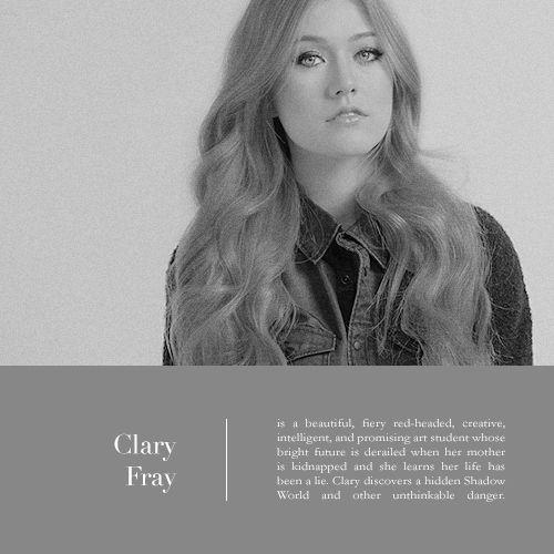 Clary Fray #ShadowhuntersTV