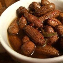 Rachaels Superheated Cajun Boiled Peanuts - Allrecipes.com