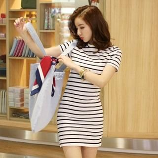 Buy 'BRONCY – Striped Sheath Dress' with Free Shipping at YesStyle.com.au. Browse and shop for thousands of Asian fashion items from South Korea and more!