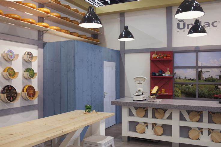 ©studiomfd, communial table, cheese store, cheese stand, Dutch (www.studiomfd.com)