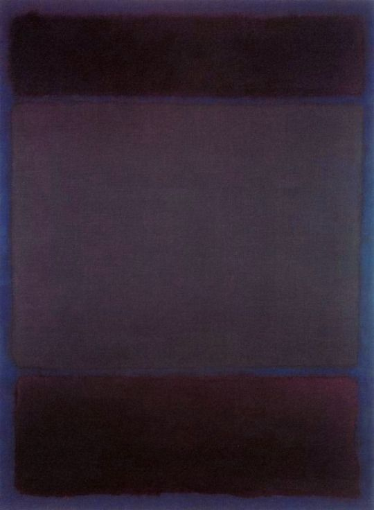 Mark Rothko, Untitled, 1968                                                                                                                                                                                 More