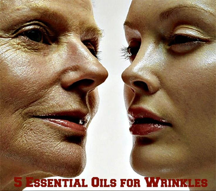 5 Essential Oils for Wrinkles #beauty #skin #wrinkles