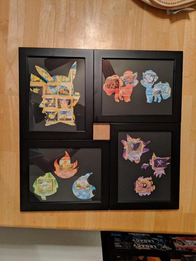 Card Cutouts Pokemon Pokemon Decor Anime Crafts Pokemon Diy