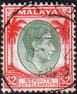 Straits Settlements 1937 SG 291 King George VI Head Fine Used SG 291 Scott 251Other Commonwealth Stamps HERE
