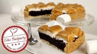 Brownie- Marshmallow - Kuchen