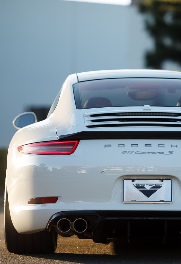 ☆ All Things {WHITE}☆╮ ***Porsche 911 Carrera S***                                                                                                                                                                                 More