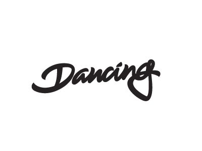 "lettering for ""dancing cheetah"" party."