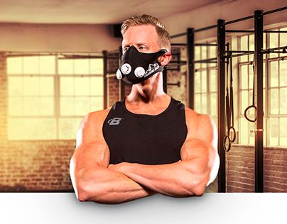 """Check out new work on my @Behance portfolio: """"Training Mask 2.0"""" http://be.net/gallery/57188429/Training-Mask-20"""