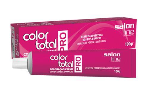 Color Total PRO especialmente indicada para o profissional cabeleireiro. #salonline #produtos #cabeleireiro #cabelos #coloracao #corduradoura