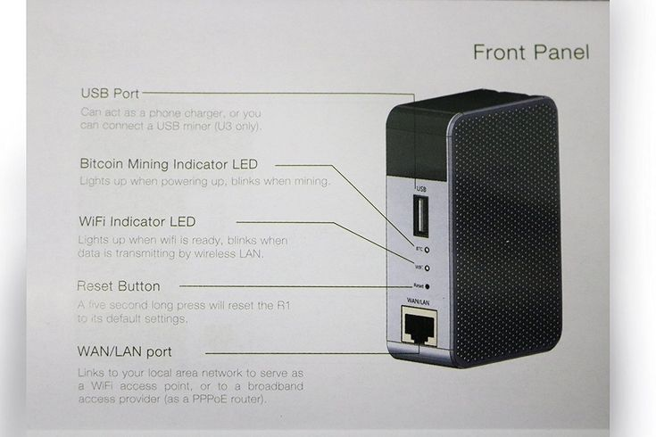 Item specifics     MPN:   FBA_R1    UPC:   Does not apply      Brand:   Bitmain    EAN:   Does not apply       Bitmain Antrouter R1 Wifi Solo Bitcoin Miner Wireless Router  Price : 222.50  Ends on : 2 weeks    - #Antrouter, #Bitcoin, #BitcoinMiner, #BITCOINMININGCONTRACT, #GntMining