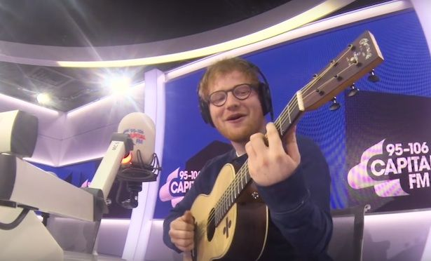 Ed Sheeran Singing the FRESH PRINCE Theme Song Is Great
