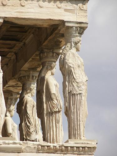 Temple of Erechteion  Greece