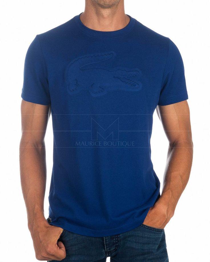 Camisetas Lacoste Sport Logo - Azul Royal