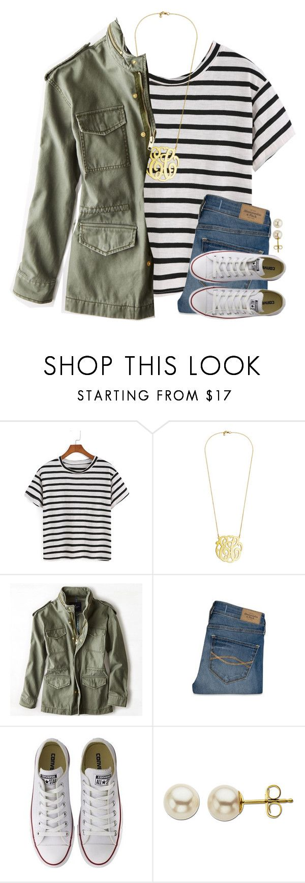 """""""Go follow @smileyavenuegirl and get her to 750!"""" by meljordrum ❤ liked on Polyvore featuring American Eagle Outfitters, Abercrombie & Fitch, Converse and Lord & Taylor"""