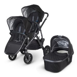 UPPAbaby Vista Tandem Pushchair in Jake Black