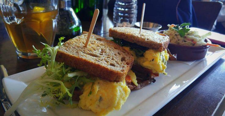 Photo of Lula Cafe - Chicago, IL, United States. Egg Sandwich