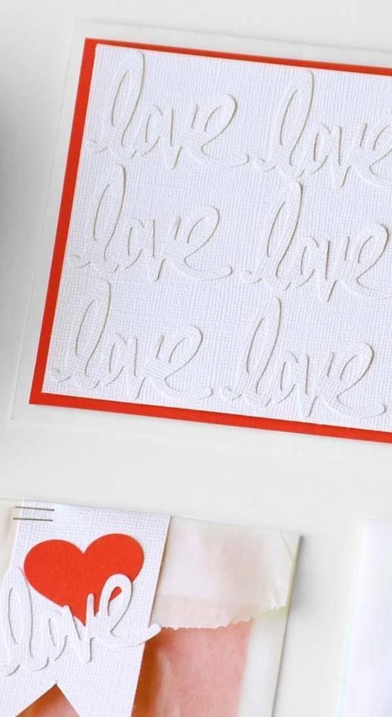 How cute are these handmade cards for Valentine's Day? Easily DIY for friends, for kids, family or the office!