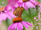 April 2013 - Psalm 128:1 NKJV Desktop Calendar- Free Monthly Calendars Wallpaper