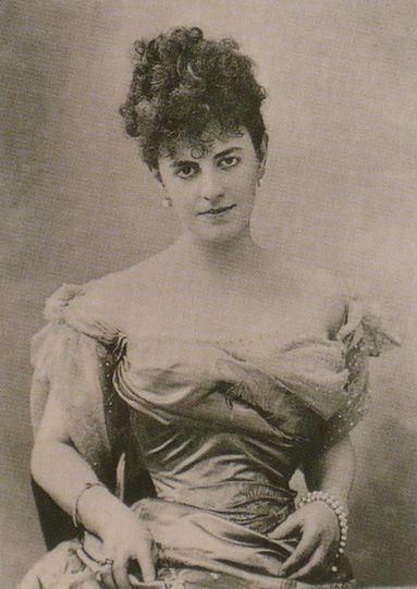 Félix Nadar - The Countess Greffulhe c.1895