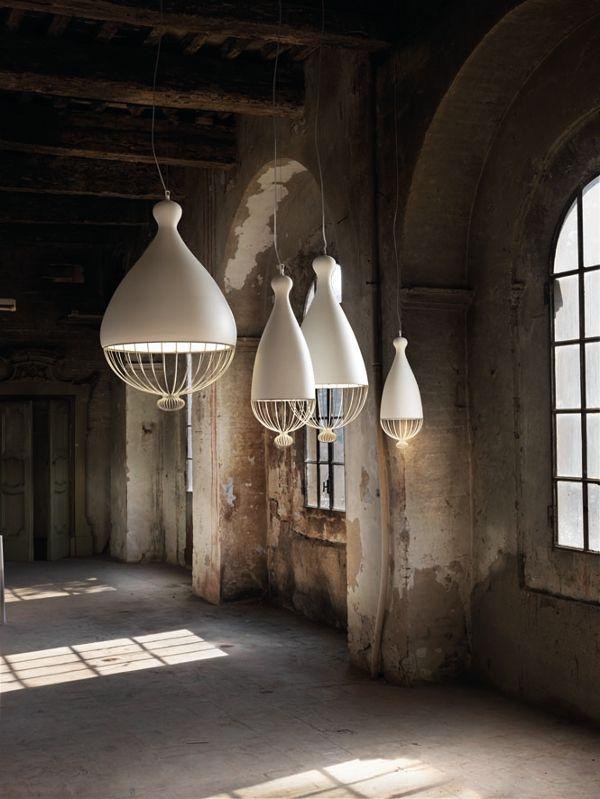 Suspension en céramique Collection Le Trulle by Karman | design Edmondo Testaguzza