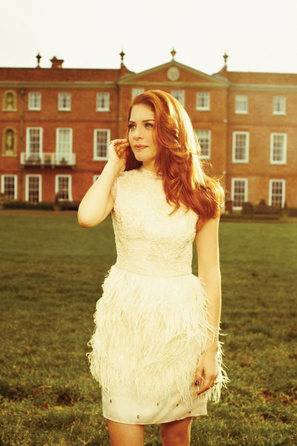 The Sun Shines on Rachelle Lefevre - Watch! Magazine August 2014