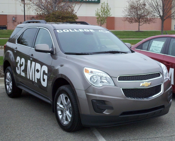 32MPG Chevy Equinox at the Chevy Drive Away Event