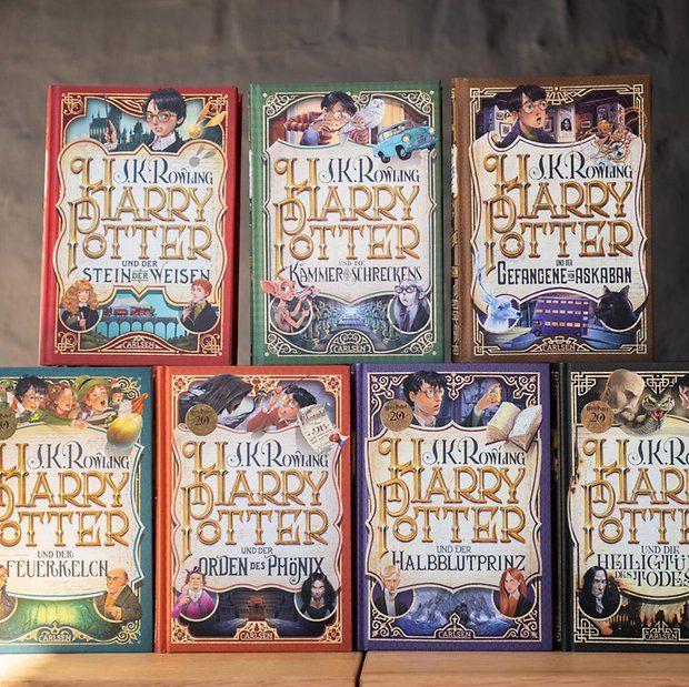 Happy Harry Days Vor 20 Jahren Begann Die Reise Mit Der Stein Der Weisen Fotos De Livros Livros Para Ler Harry Potter
