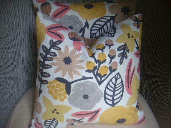 Pillow cover retro designer fabric �10.50