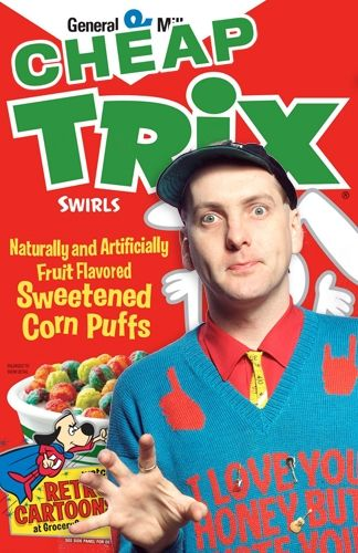 If Music Stars Had Cereals: Silly rabbit, Cheap Trix are for riffs.