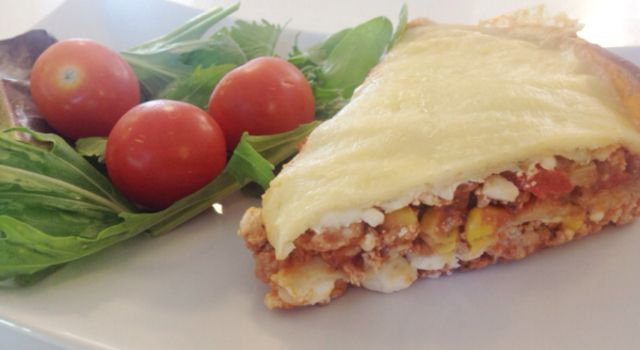 Speltlompe lasagne