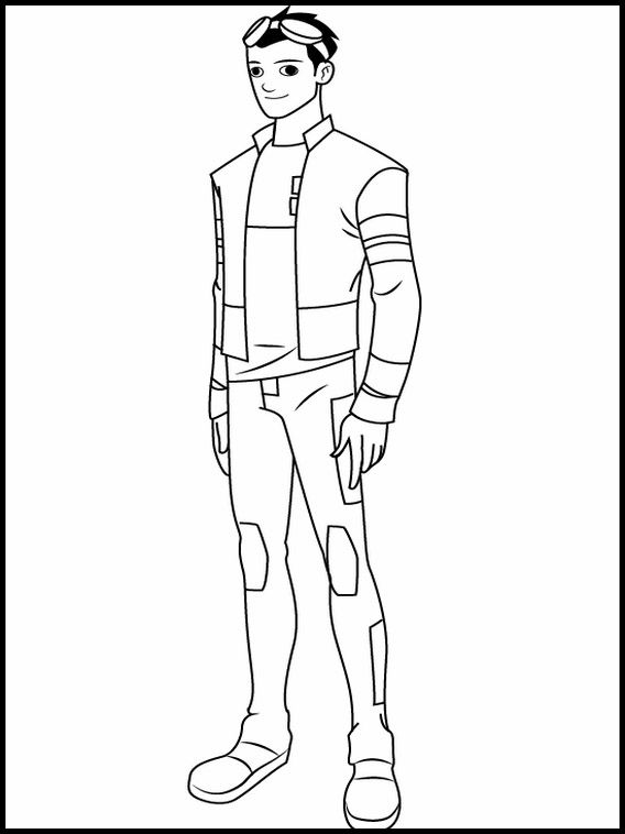 Printable Coloring Pages For Kids Generator Rex 2 Printable Coloring Pages Coloring Pages For Kids Generator Rex