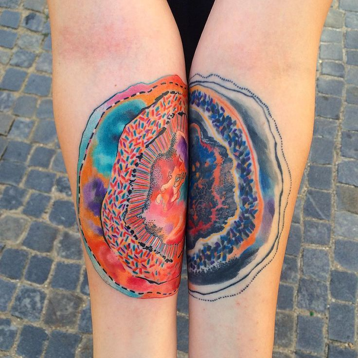Watercolor Tattoo Forearms Tattoo Bontanical Wish List