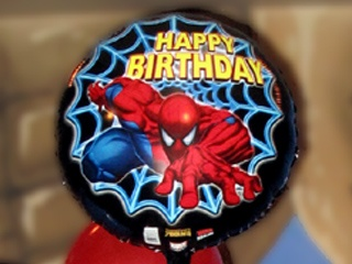We have many balloons you can pick out for your party. You can also drop in to purchase them.