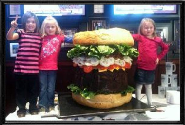 Mallies Sports Grill - Home to the World's Biggest Burger   19400 Northline Rd, Southgate, MI 48195