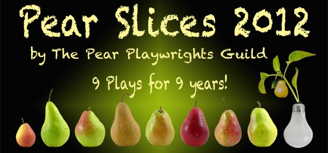 One of my short plays, The Infinite Book, is appearing as part of the Pear Slices 2012. There's still time to go see the productions. (www.thepear.org) The Pear Avenue Theatre - Cutting-Edge, Live Theatre in Mountain View, California