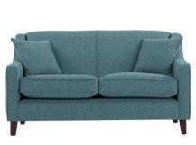 Halston 2 Seater Sofa, Teal Weave