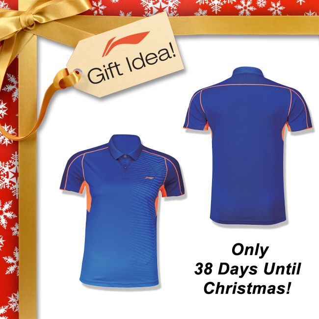 BADMINTON LOVERS GIFT IDEAS! Get your family and friends a Christmas gift they will truly LOVE this year like this premium quality, high tech badminton polo made from a blend of 86% polyester and 14% spandex [AAYJ289-2]! Find this and a huge selection of badminton clothing at your local USA and CANADA dealer or here at www.shopbadmintononline.com/clothing-for-badminton-c-5.html #MakeTheChange!