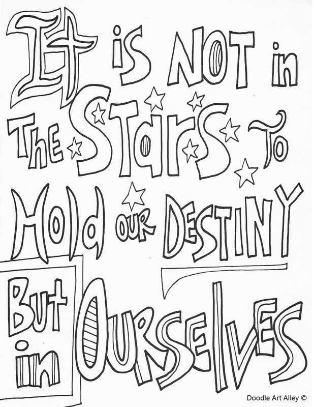 Quote coloring pages from Doodle Art Alley | Quote ...